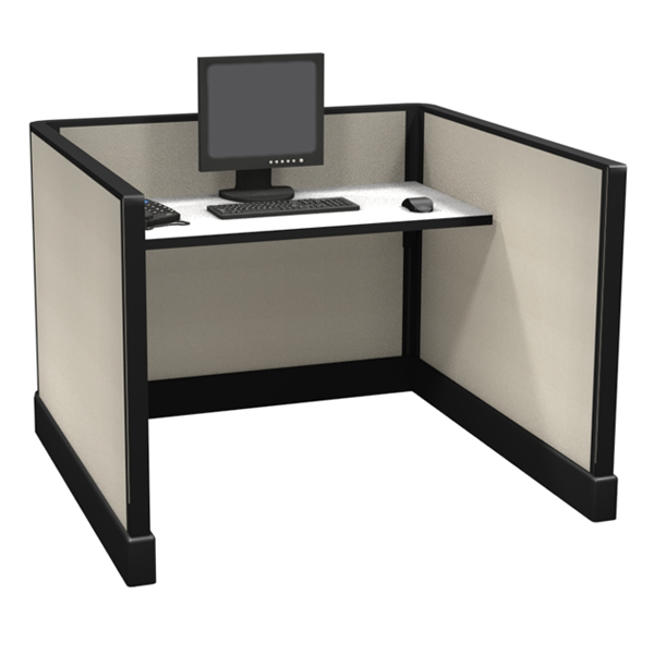 "39"" Tall 4'x4' office cubicles"