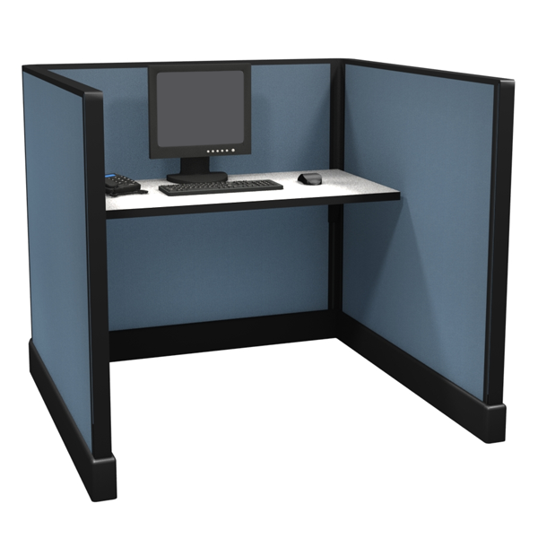 "47"" Tall 4'x4' office cubicles"