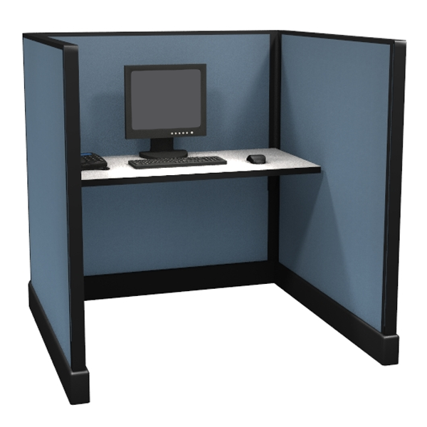 "53"" Tall 4'x4' modular furniture systems"