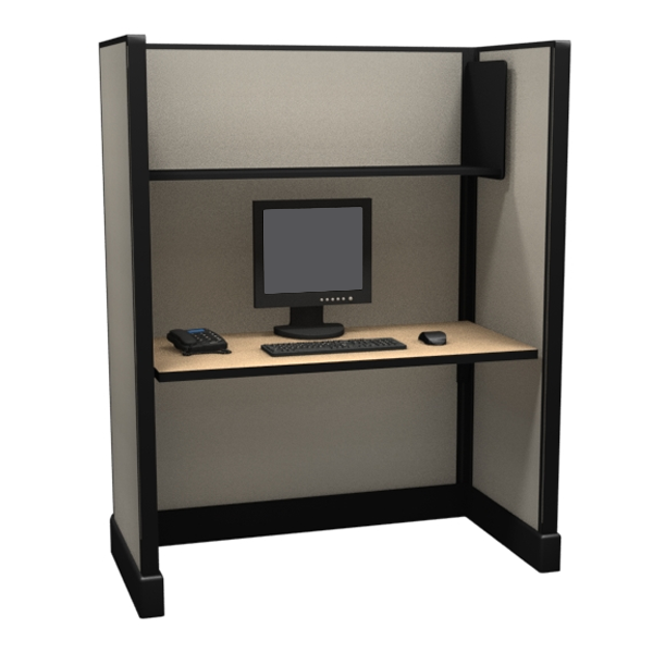 "67"" Tall 4'x2' office cubicles"