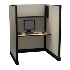 """67"""" Tall 4'x4' open office systems"""