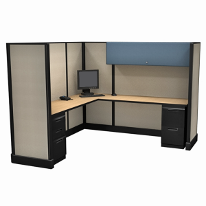 """67"""" Tall 7'x7' open plan systems"""
