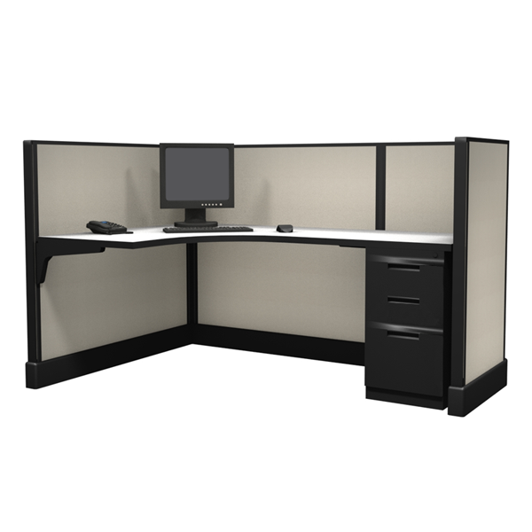 "47"" Tall 6'x4' office cubicles"