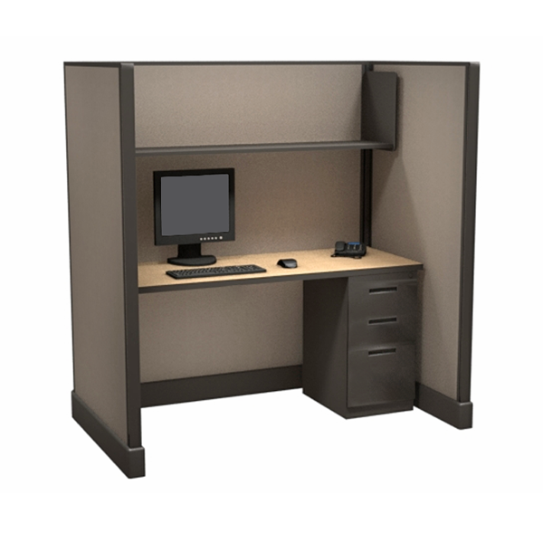 Large Call Center Cubicles