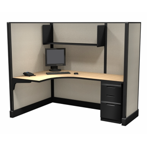 """67"""" Office Cubicles L shaped"""