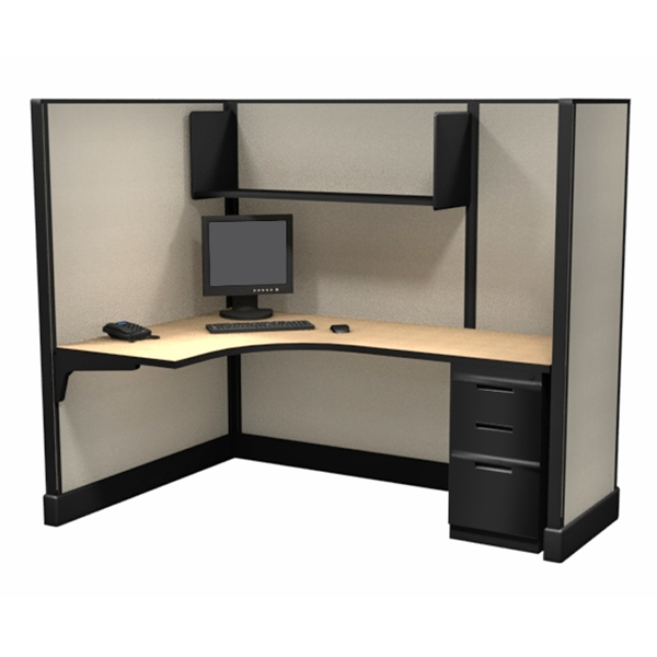 "67"" Office Cubicles L shaped"