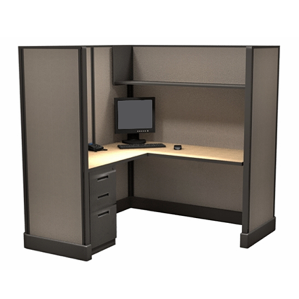 "67"" 5x5 Office Cubicles 60"" panel"