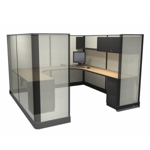 """67"""" Tall 8'x8' office cubicles"""