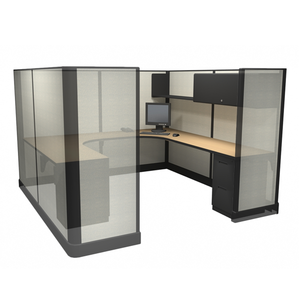 "67"" Tall 8'x8' office cubicles"