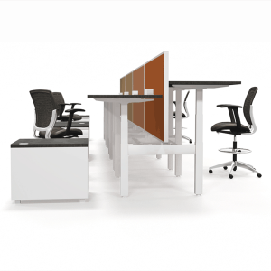 Pod of 8 Sit - Stand Desking Stations