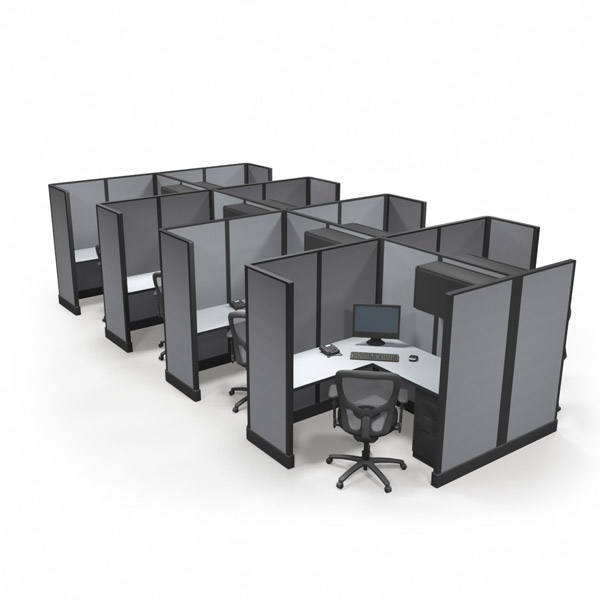 "Office Cubicles 67"" 5x5 Special"