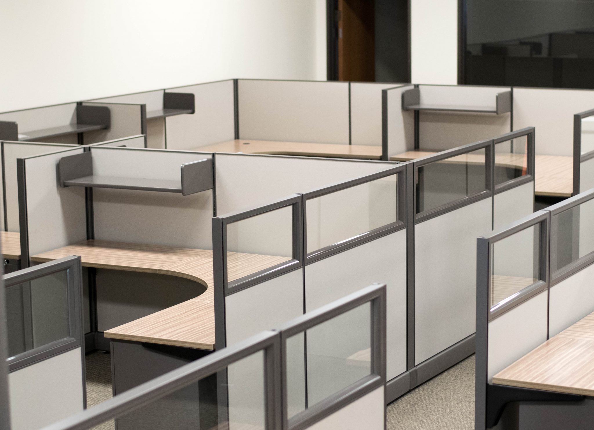 Standard Office Cubicles