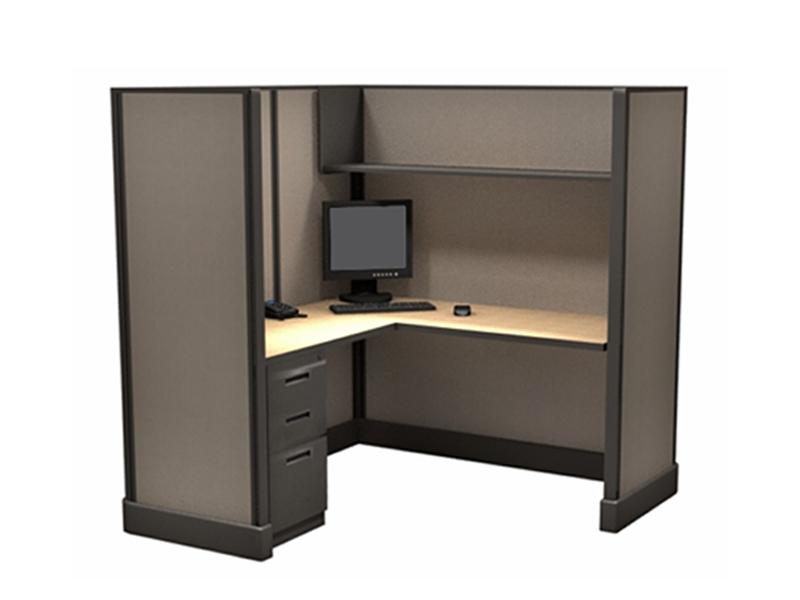 "67""5'x5' San Antonio Office Cubicles"